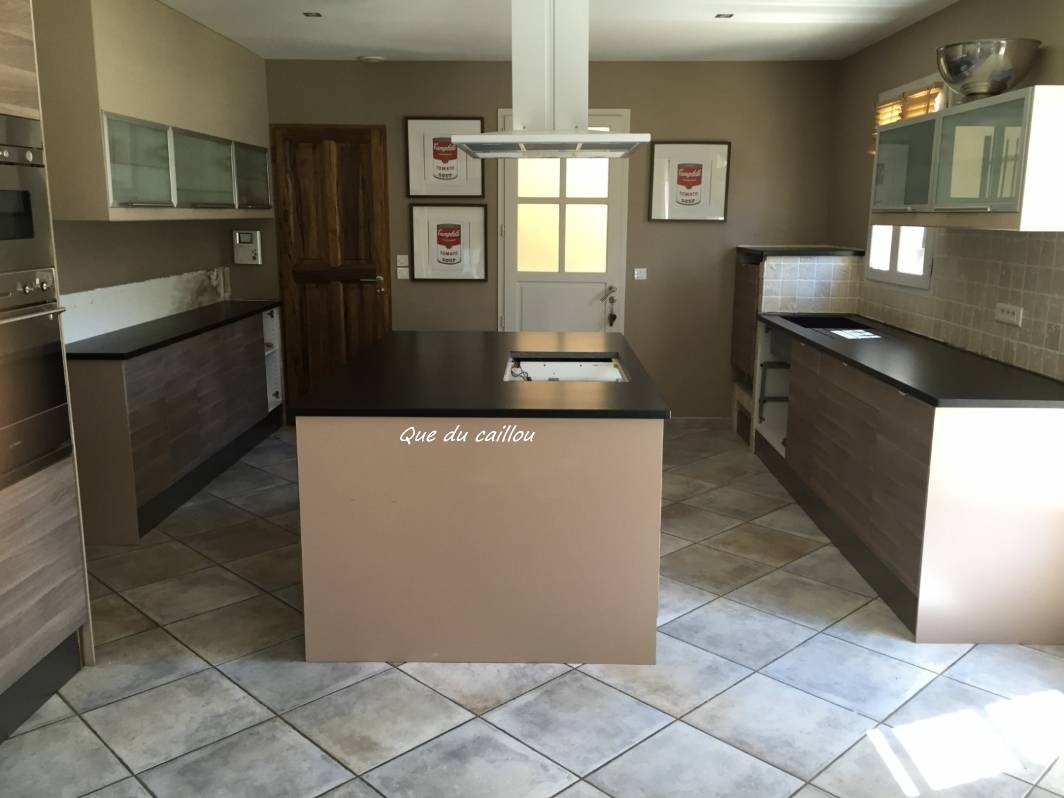 Granit Du Zimbabwe façonnage et pose de plans de cuisine en granit zimbabwe à